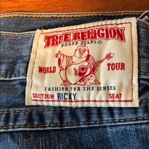 True Religion Jeans Bid and Tall size 48 like new